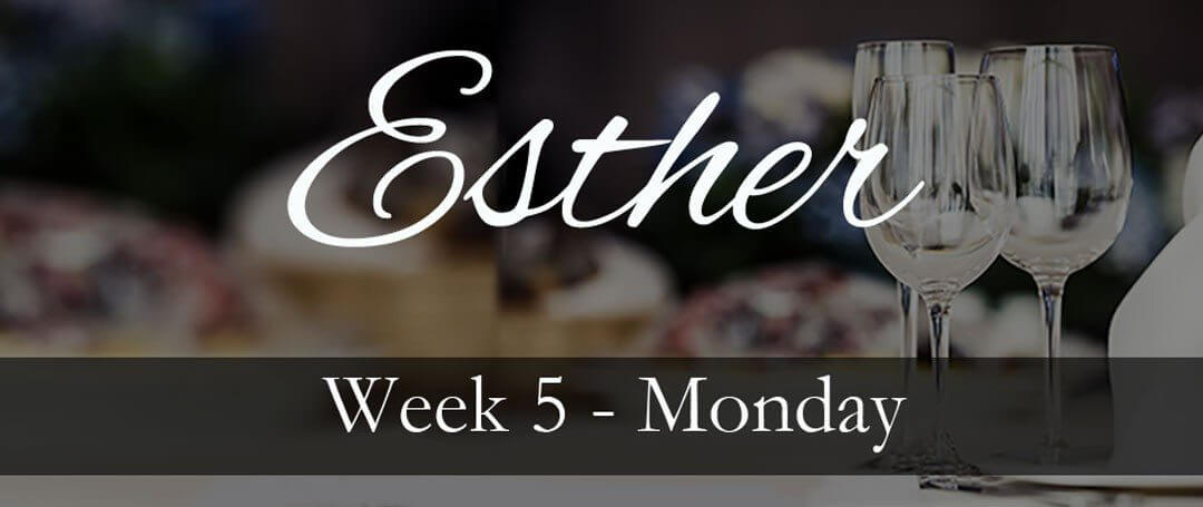 {Esther 5} ~ Entering the hard places with confidence…