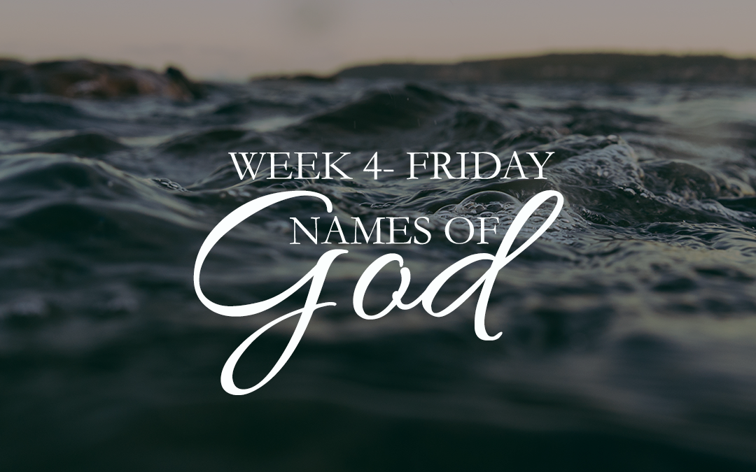 His Name Shall Be Called…