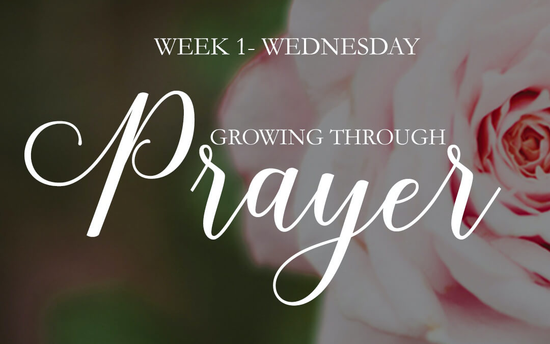 We fall to our knees in prayer…