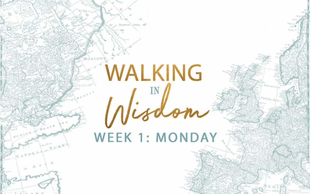 Week 1- Walking In Wisdom