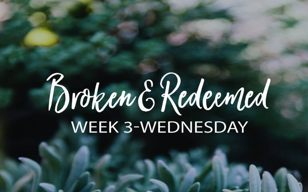 The Gift of Intimacy with God in our Brokenness
