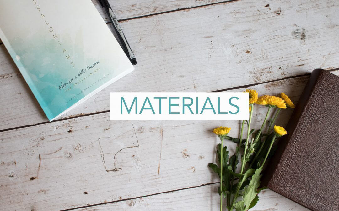 1st & 2nd Thessalonians Materials Now Available!
