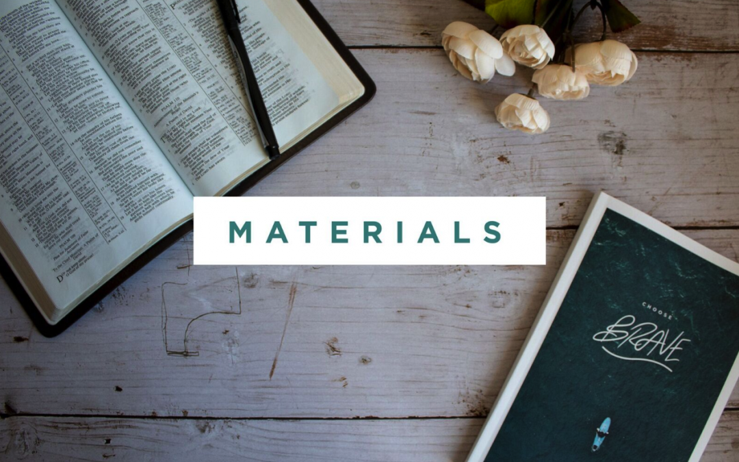 Choose Brave Materials Now Available!