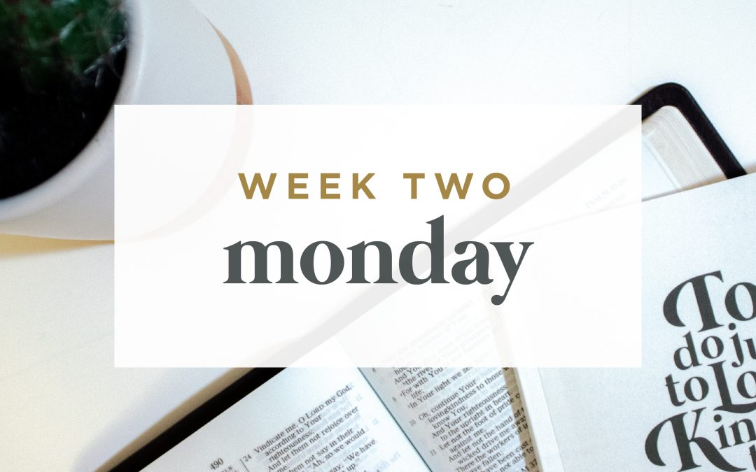 Week 2: The Promise of Deliverance