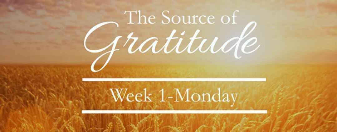 The TRUE Source of Gratitude {Don't miss the beauty}…