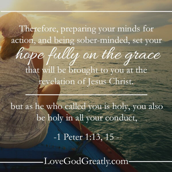 Love God Greatly- Peter Study