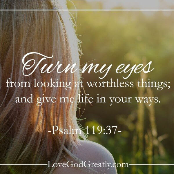 Looking for contentment in all the wrong places    - Love God Greatly