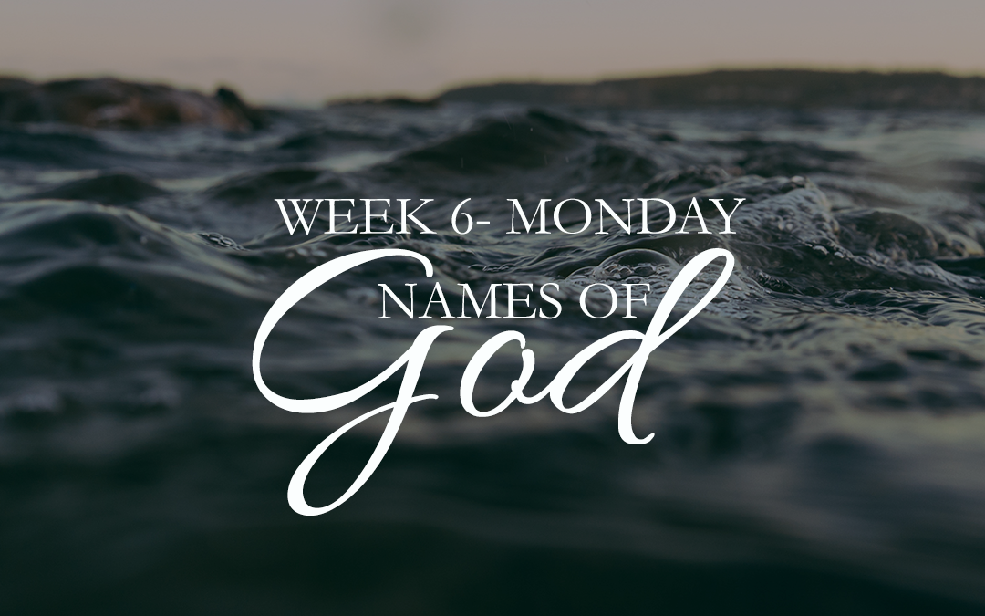 Week 6: Jesus – Yahweh Saves