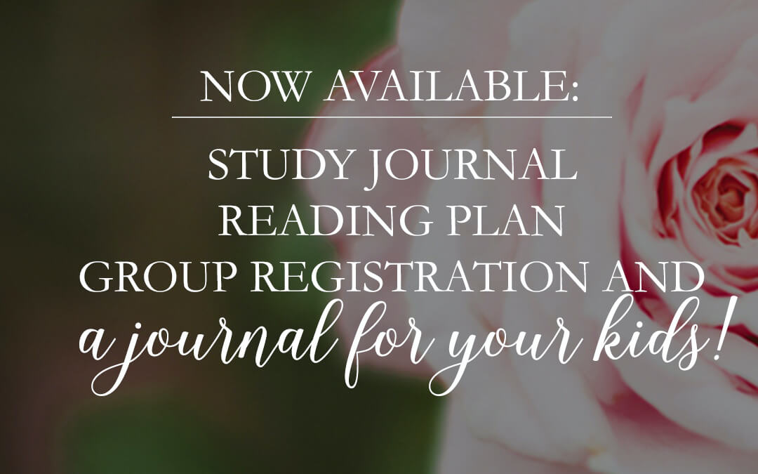 NEW Journal for KIDS|Study Resources|Group Registration