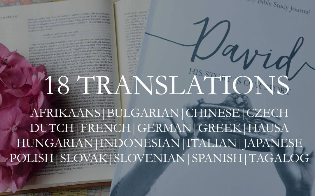 Eighteen DAVID Translations… NOW AVAILABLE!