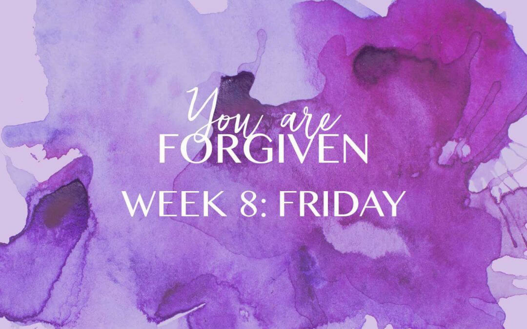 How can you KNOW that you are forgiven?