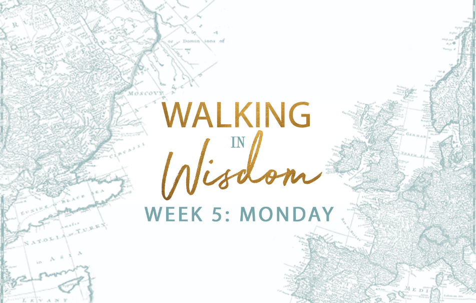 Week 5 – Standing Strong in a Tempting World
