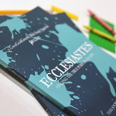 Ecclesiastes Study Journal for Kids