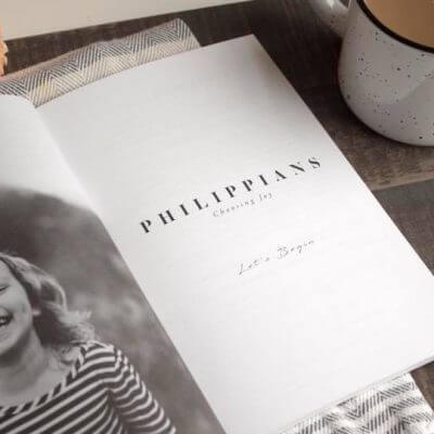 Philippians Study Journal for Kids