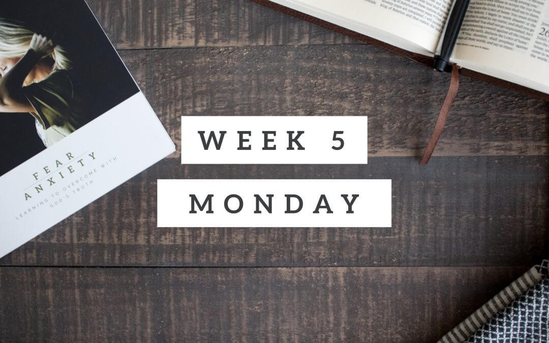 Week 5 – He Moved the Mountains